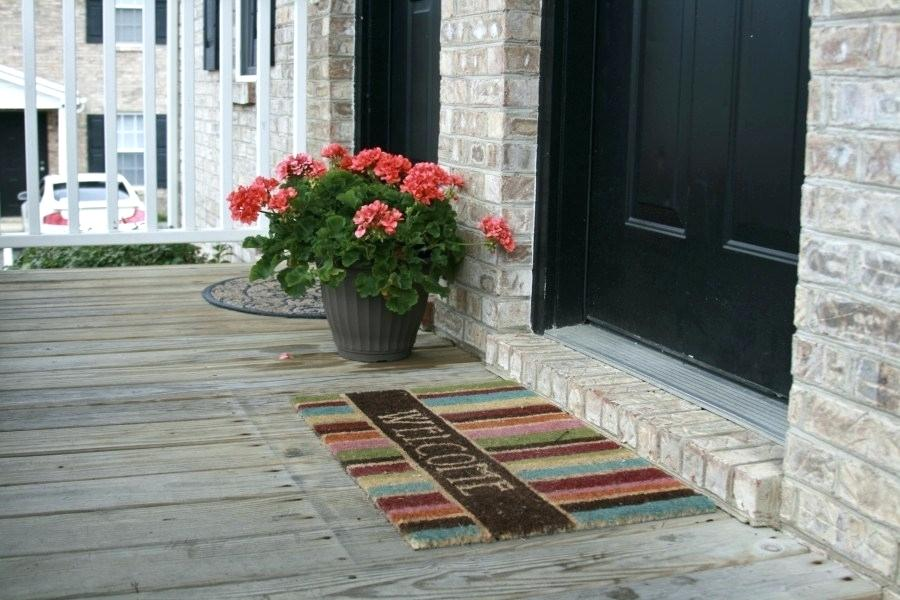 Various Functions of Doormats
