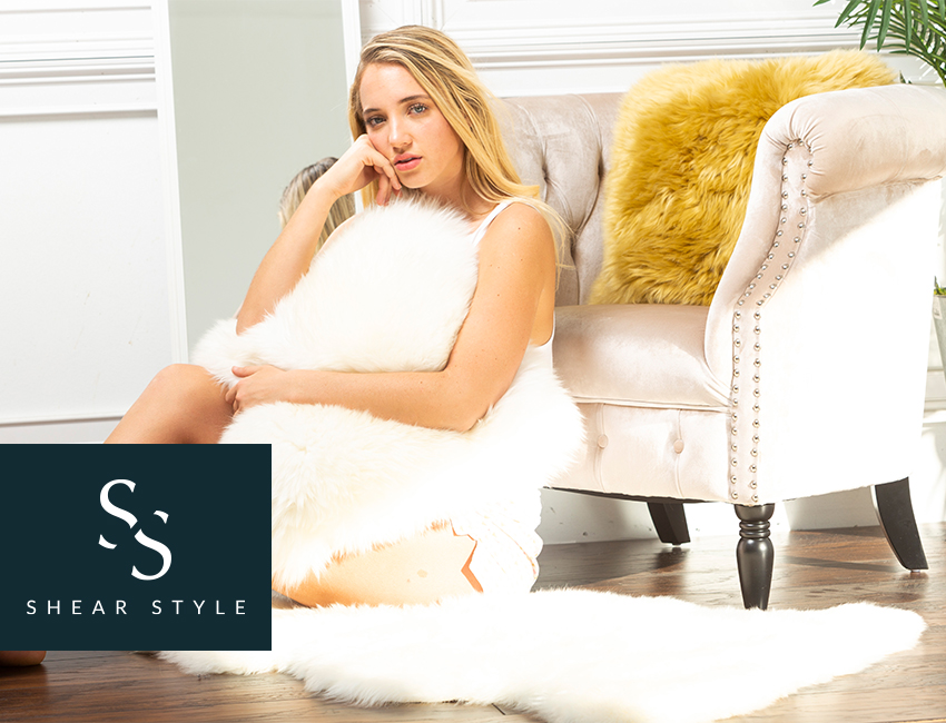 Try Sheepskin Rugs or Throws in Your Home